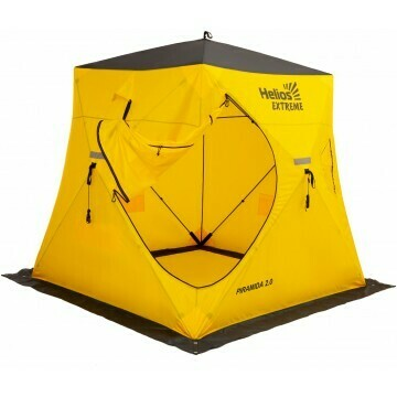 Палатка зимняя PIRAMIDA EXTREME 2,0х2,0 Helios V2.0 (широкий вход) ТОНАР