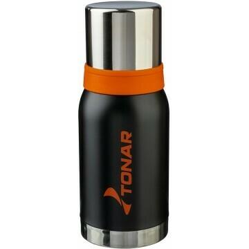 Термос 750ML черный (2 крышки-кружки) TONAR