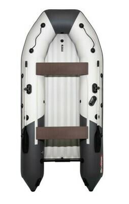 "Лодка  Таймень NX 3200 НДНД ""Комби"" светло-серый/графит"
