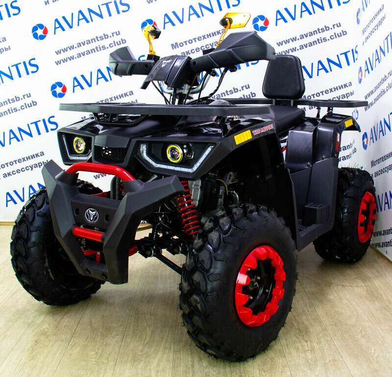 КВАДРОЦИКЛ AVANTIS HUNTER 200 NEW LUX 2021 (БАЛАНС.ВАЛ)