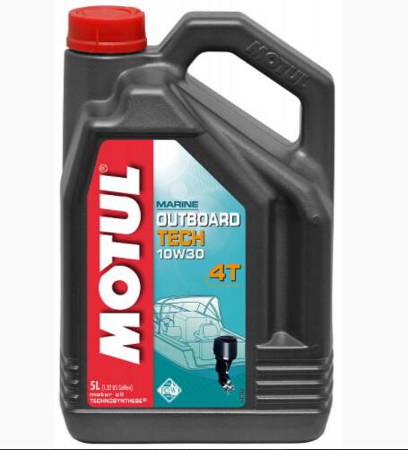Масло для лодочных моторов 4T Motul Outboard Tech 4T 10W30 1 л