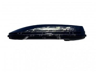 Автомобильный бокс Евродеталь Магнум 420 черный камуфляж