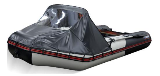 Носовой тент для лодки Хантер 345 ЛКА