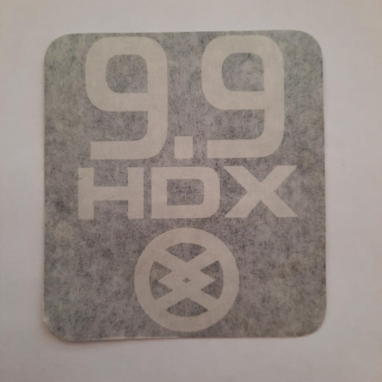 Наклейка на лодочный мотор HDX 9,9