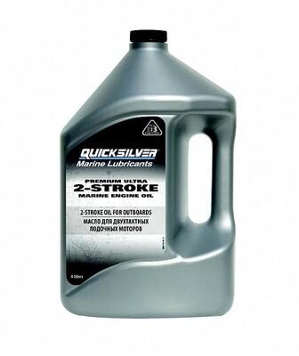 Масло для лодочных моторов Quicksilver Premium Ultra 4л. 2-такт.