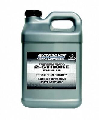 Масло для лодочных моторов Quicksilver Premium Ultra 10л. 2-такт.