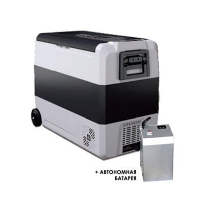 Автохолодильник Alpicool T60 + Батарея