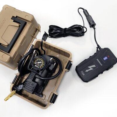 Комплект: Автомобильный компрессор BERKUT SPEC-15 + JSL-15000
