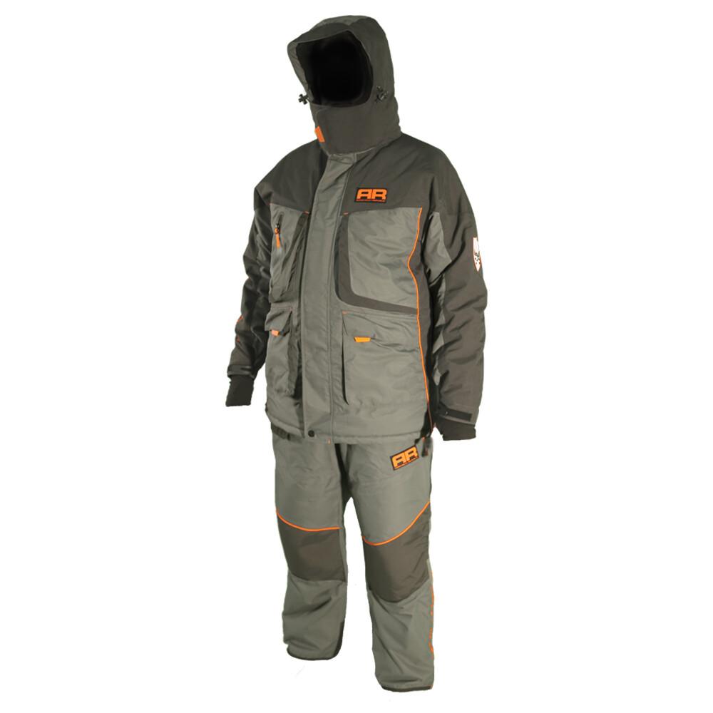 Костюм для зимней рыбалки Adrenalin Republic Rover -25, серый/графит. M, L, XL