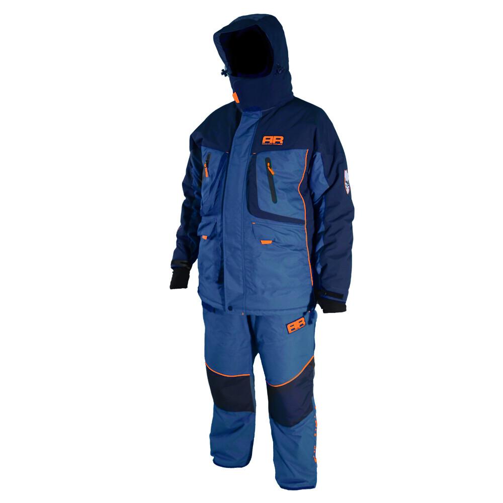Костюм для зимней рыбалки Adrenalin Republic Rover -35, синий/кобальт. M, L