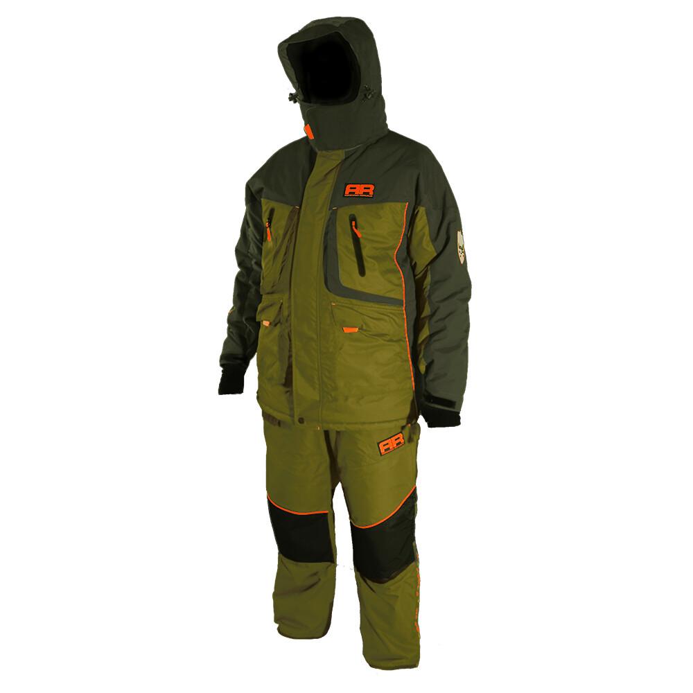 Костюм для зимней рыбалки Adrenalin Republic Rover -35, зеленый/хаки. M