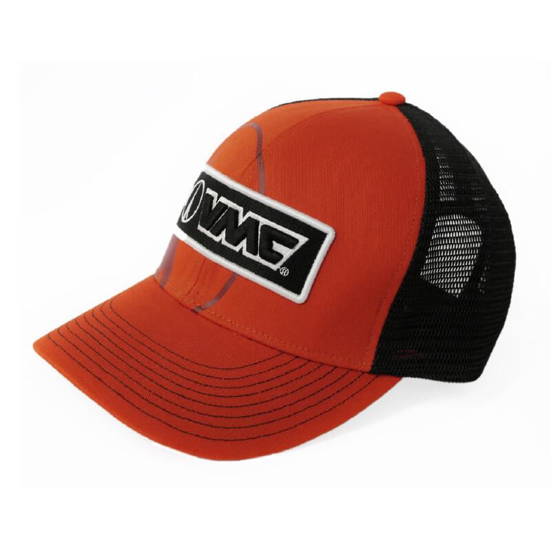 Кепка VMC Trucker Red с сеточкой/ красная