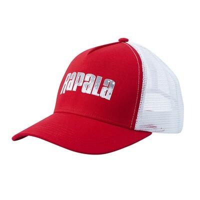 Кепка RAPALA красная c сеткой Splash logo