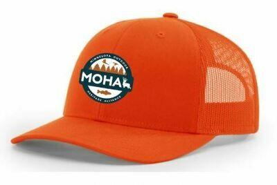 Blaze Orange MOHA Hat