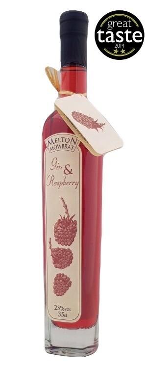 Gin & Raspberry Liqueur - 35cl