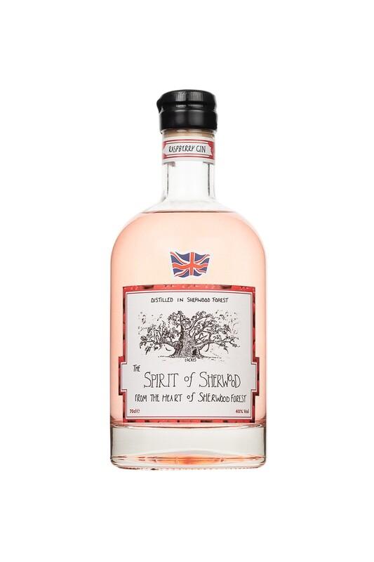 Spirit of Sherwood Raspberry Gin - 70cl