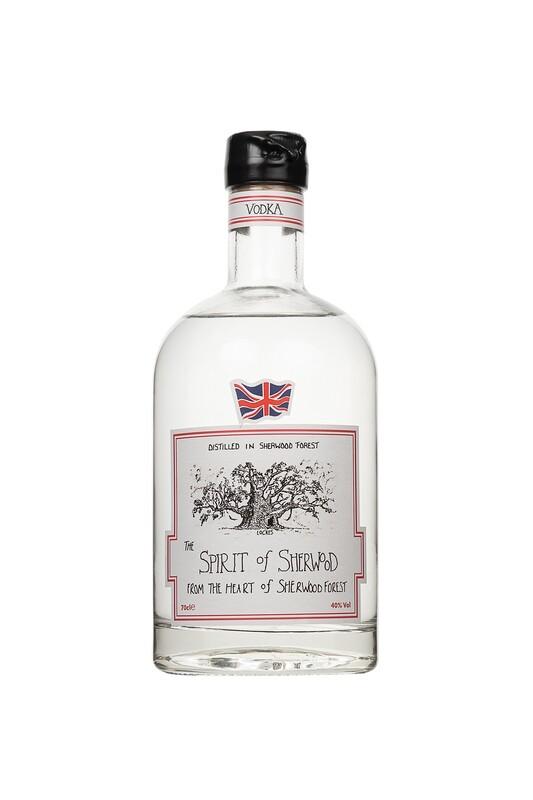 Spirit of Sherwood Vodka - 70cl