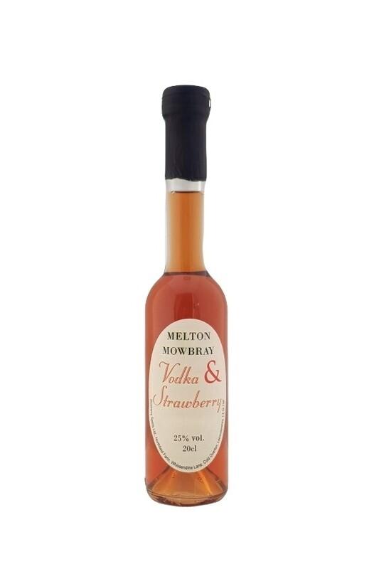 Vodka & Strawberry Liqueur - 20cl