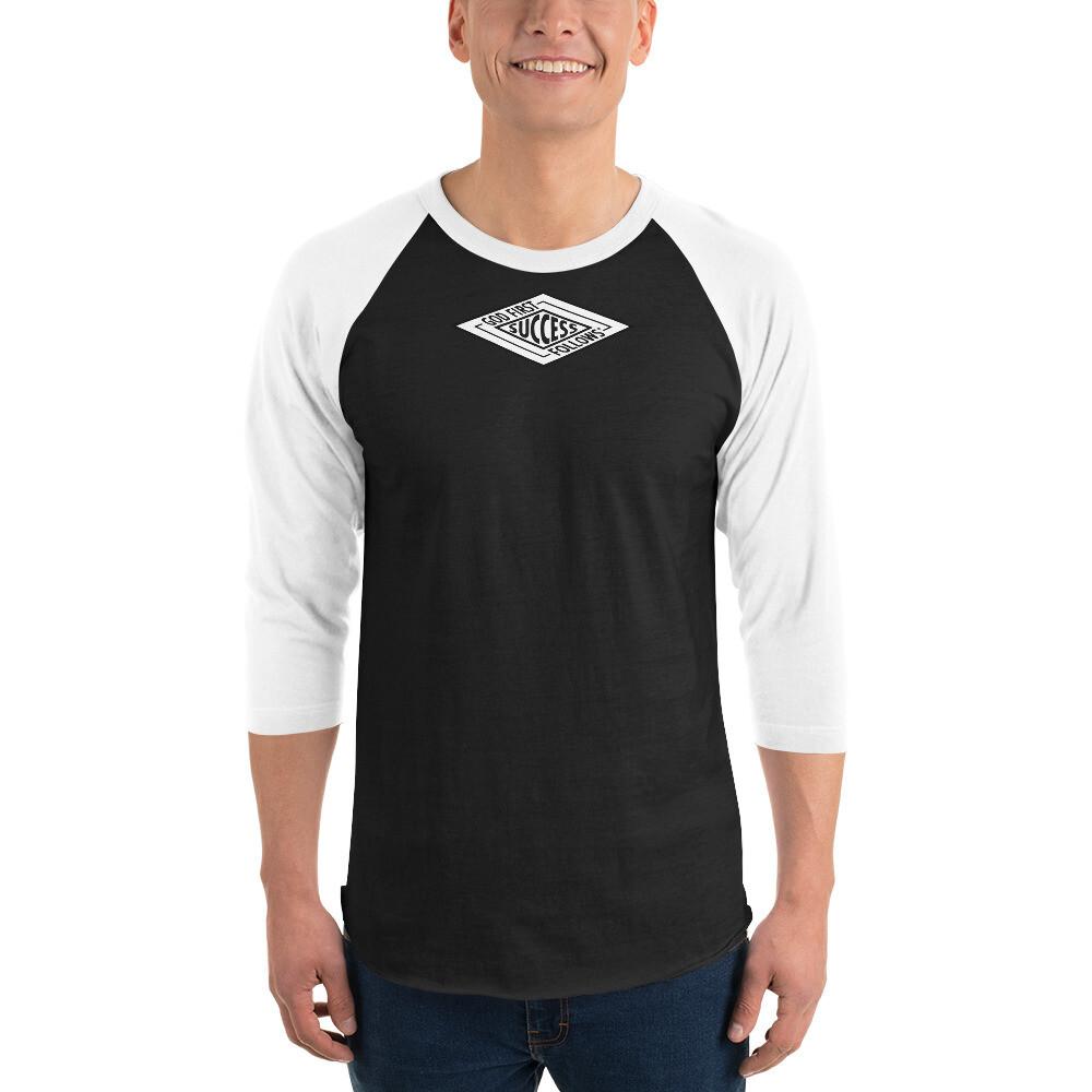 SUCCESS BRAND  3/4 sleeve raglan shirt