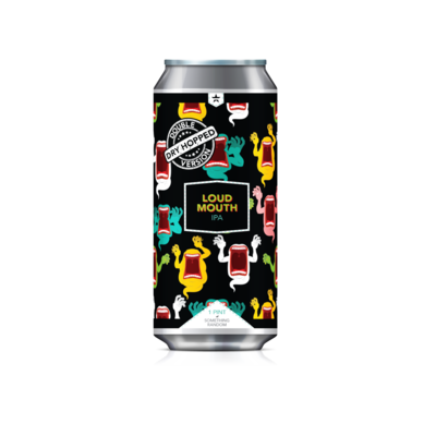 DDH Loud Mouth Case (6) 4-Packs *Shipping for CA Only