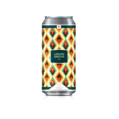 Liquid Grove Case (6) 4-Packs *Shipping for CA Only