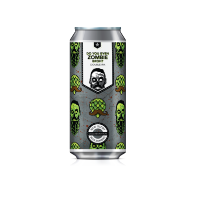Do You Even Zombie Broh? Case (6) 4-Packs *Shipping for CA Only