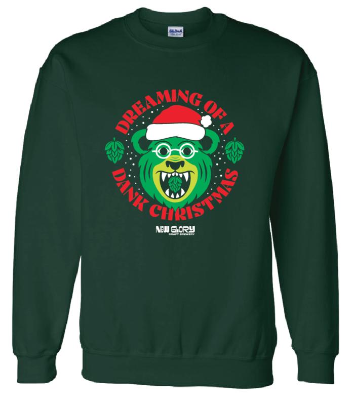 New Glory Dank Christmas Sweater