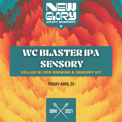*Pre-Order* WC Blaster DIPA Sensory Kit *Shipping for CA Only