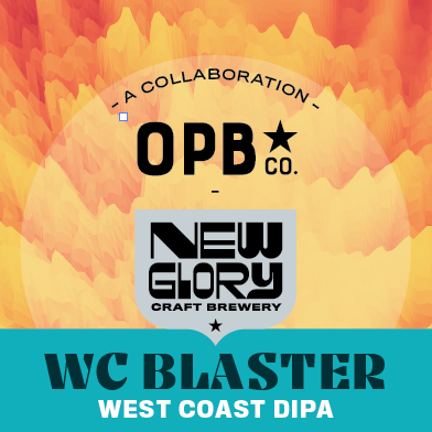 WC Blaster DIPA Case (6) 4-Packs *Shipping for CA Only