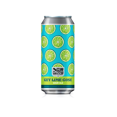 Key Lime Gose (6) 4-Packs *Shipping for CA Only