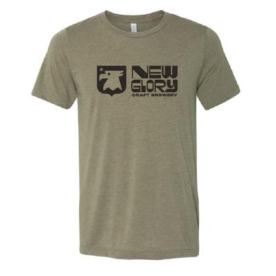 Army Green New Glory Logo T-Shirt