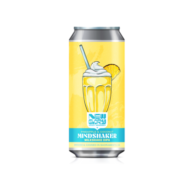 Mindshaker w/ Pineapple & Coconut (6) 4-Packs *Shipping for CA Only