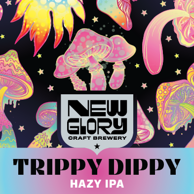 ***PRESALE for Friday 10/22 Shipping*** Trippy Dippy Case (6) 4-Packs *Shipping for CA Only