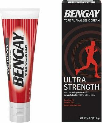 Bengay Ultra Strength Analgesic Cream / 4oz