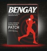 Bengay Topical Patch / 5% Menthol / 5ct / Regular size