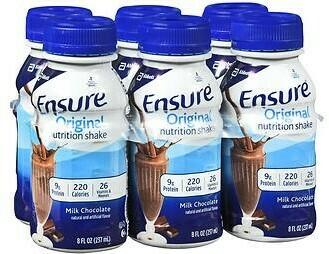 Ensure Original  Nutritional Shake / Milk Chocolate / 6pk