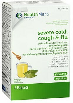 Sever Cold,Cough & Flu -Nighttime   6 packets
