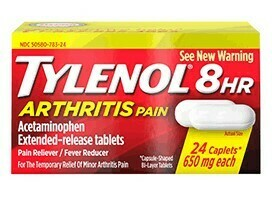 Tylenol 8hr Arthritis Pain Relief / 24 Caplets