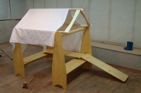 Стойки вальдорфские для игры в домик из массива дерева
