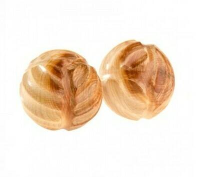 Тактильные можжевеловые шарики рифлёные, Леснушки