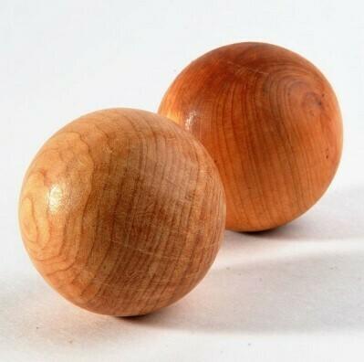 Тактильные можжевеловые шарики гладкие, Леснушки