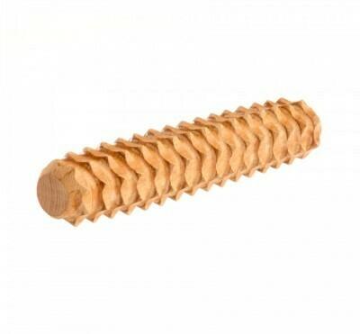 Тактильная можжевеловая палочка рифлёная, Леснушки