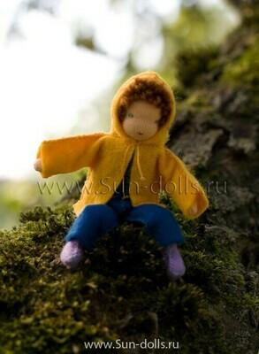 Набор для изготовления фетровой игрушки «Сентябрь», мастерская Sun-dolls