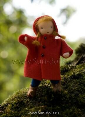 Набор для изготовления фетровой игрушки «Октябринка», мастерская Sun-dolls