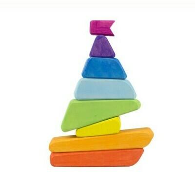 Пирамидка «Кораблик», Сказки Дерева