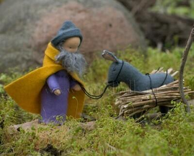 Набор для изготовления фетровых игрушек «Иосиф и ослик», мастерская Sun-dolls