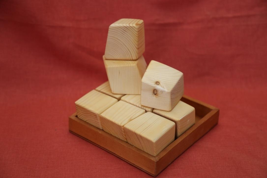 Куби Иши - головоломка, кубики, конструктор
