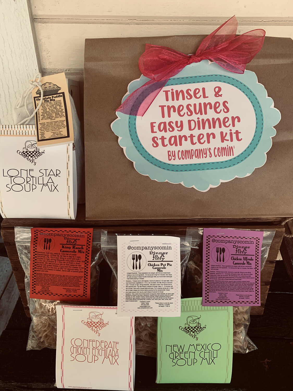 Tinsel & Treasure Easy Dinner Starter Kit