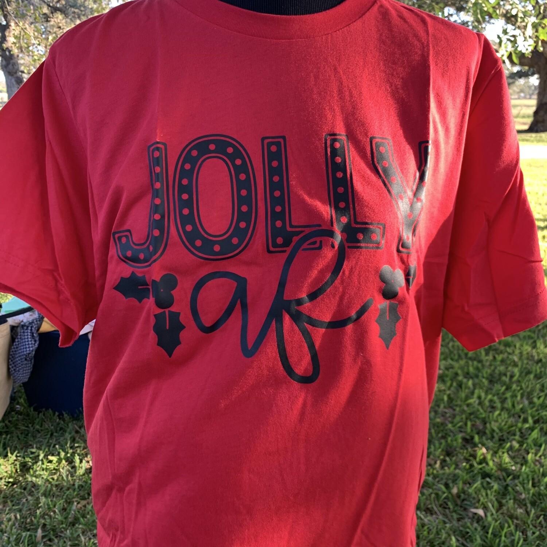 Jolly AF T-shirt Red