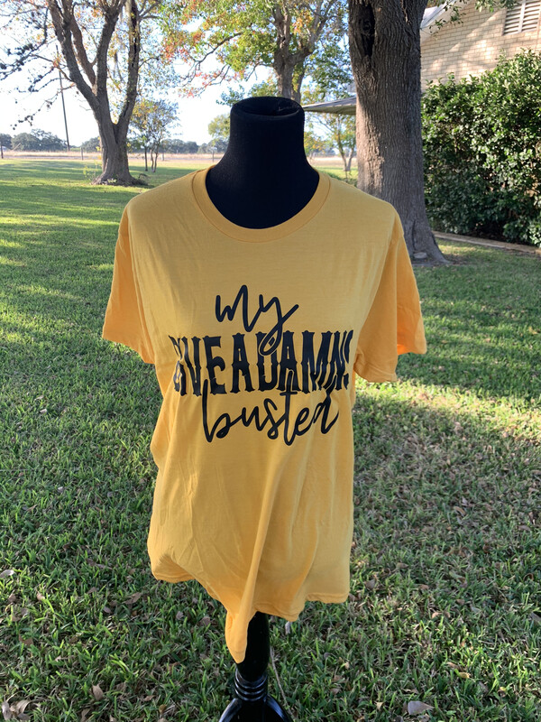 My Give A Damn Is Busted T-Shirt